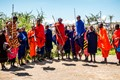 The Masaai tribe in Africa are known for their jumping skills.