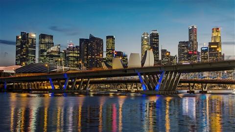 P4170064 Singapore - Blue Hour