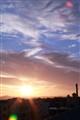 Sunset over Caloundra