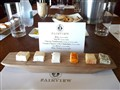 Wine and cheese tasting.