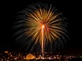 Fireworks over Mosta, Malta