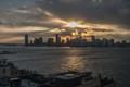 New York skyline from Whitney Museum
