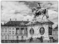 The Queens palace in Copenhagen, Denmark