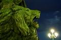 Venetian lion snarls defiance
