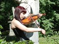 Fiddling at Forest Hills