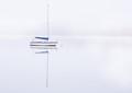 Boat on Loch Insh, Scotland