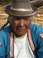 Uros Lady 1, Lake Titicaca, Peru