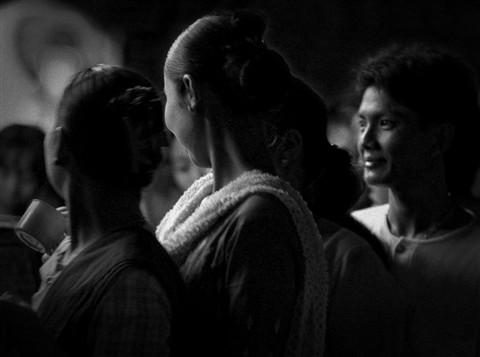 Night procession - Shwedagon Pagoda - Rangoon - Burma