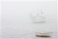Lobster Boat in Fog