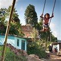 A Girl on a Swing, Nepali Style