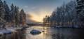 Alajoki sun rays