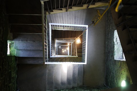 Inside Peel Tower