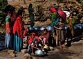 Women in Indian Village