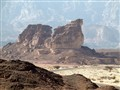 A desert view