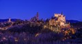 Segovia in the blue hour