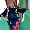 Granddaughter Ava on Slide