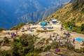 Campsite in Peru
