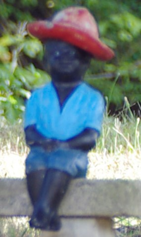 Little Boy Statue Closeup -- From IGP8017