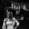 Bride at night