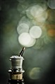 Champagne Bokeh Bubbles