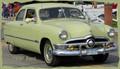 Retro--1950 Ford