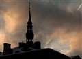 Tallinn winter sky