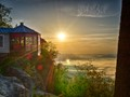 Sunrise on McCloud Mountain