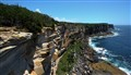 Manly Harbour National Park. North Head Cliff. Australia