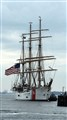 The USCGC Eagle (WIX-327) arrives in Halifax, NS