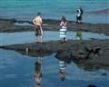 Local Net Fisherman-Tourists