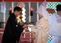 Shinto Wedding- Hatsukaichi Temple Japan