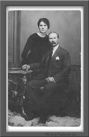 Nicolai & Ctherine 1922 b&w