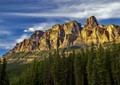 Castle Mountain @ sunet