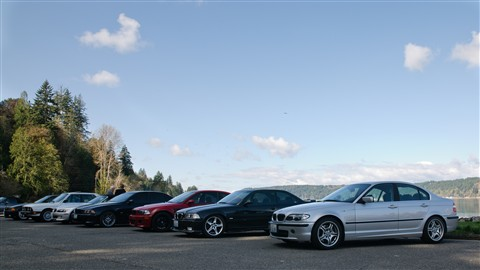 BMW CCA Hood Canal road trip