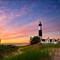 big sable point at twilight
