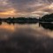 sunset at lake ottenstein
