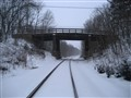Snow Covered Railroad