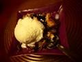 Muscat Wine Ice Cream & Dump Cake