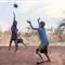 children playing in zambia