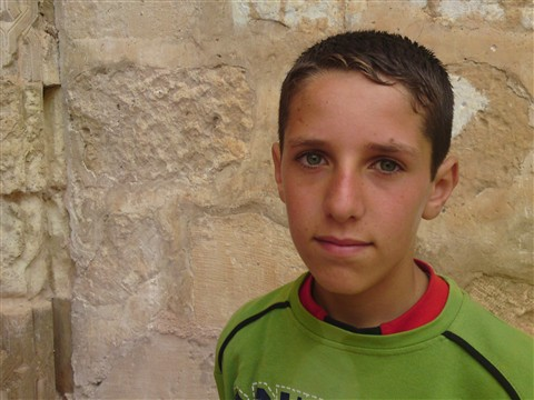 A boy from Hasankeyf