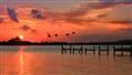 Cancun Sunset Bayside