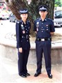 Malaysian police officers