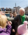 Bill Clinton in Girardville, PA