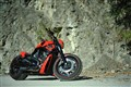 Red Harley on the Rocks