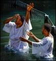 Devotee - Baptism in the Jordan river