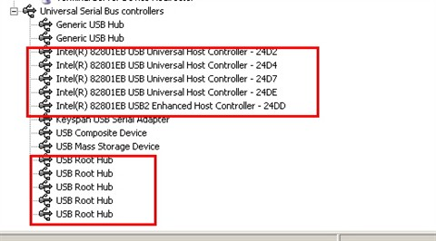USB Controller Display