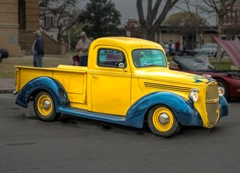 Custom Yellow Truck