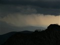 Rain arriving over Mt Buffalo 2
