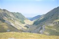 The road over Fagaras Mountains