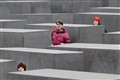 Hide and Seek at the Jewish Monument in Berlin